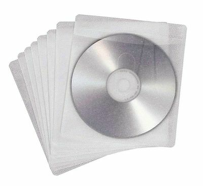 Pack de 25 SOBRES AUTOADHESIVOS para CD / DVD / BLURAY - FUNDAS PLASTICO