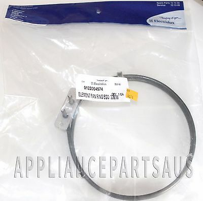 122004574 Genuine Electrolux Chef Simpson Westinghouse Oven Fan Forced Element