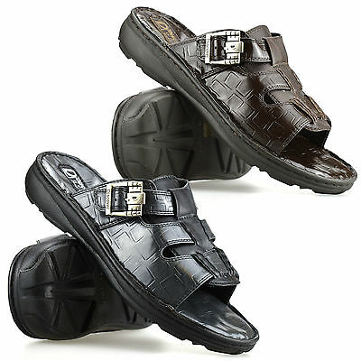 Mens Gladiator Sandals Summer Beach Cushioned Walking Waterproof Mules Shoe Size