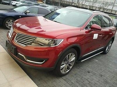 fit Lincoln crossover MKX 2015-2018 aluminium running board side step Nerf bar