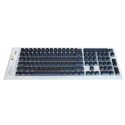 PBT Keycap Set for Cherry MX based Leopold Keyboards Front Face English Navy