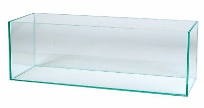 Aquarium Becken 120x40x30 cm 145 Liter Glasbecken Glasaquarium Aquarienbecken