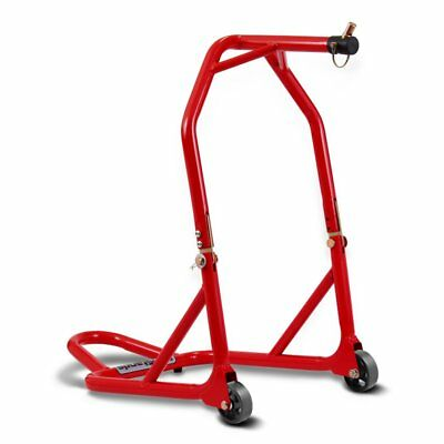 Motorcycle head stock lift BMW F 800 S/ F 800 R/ F 800 ST paddock stand red