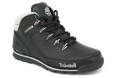 TIMBERLAND EURO ROCK Hiker Black Men's Boots Trainers