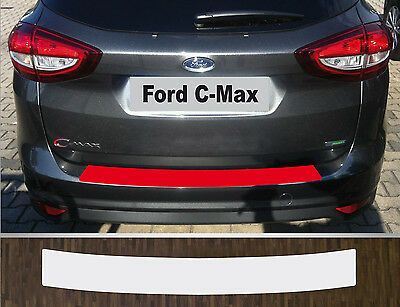 clear protective foil bumper protection transparent Ford C-Max 2015