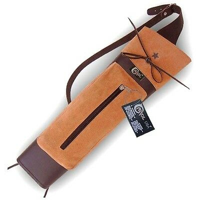 Carol Traditional Leather Back Arrow Quiver Aq131