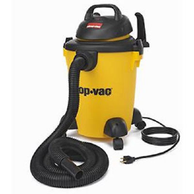 Shop-Vac 5950600 6 Gallon 3 Peak HP Pro Wet and Dry Rolling Vacuum New