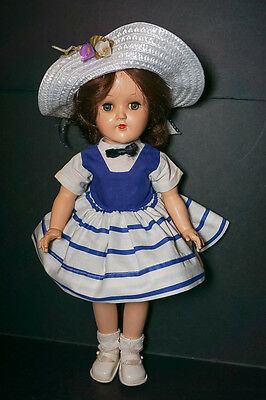CLEARANCE SALE Vintage Ideal Toni P 90 Doll Dark Hair Lovely Condition