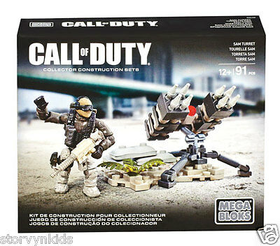NEW Mega Bloks Call of Duty Collector Construction Set - Sam Turret Toys