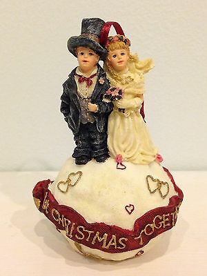 "BOYDS Yesterday's Child 1st Christmas Ornament ""Love is Forever"" #25856 NEW IB"