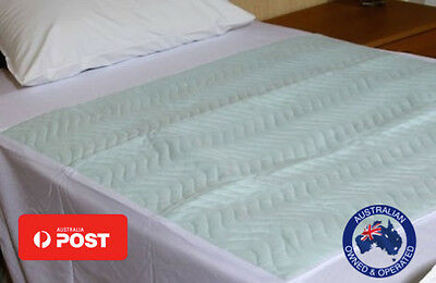 4x Single bed Waterproof Washable Incontinence Mattress Protector 90x100cm