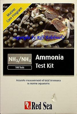 Red Sea MCP  Ammonia  Test Kit  MHD 1/15  für Meerwasser