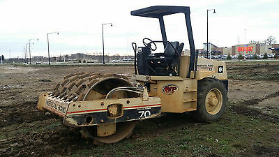 1998 Ingersoll Rand Sd70F Padfoot Roller 66""