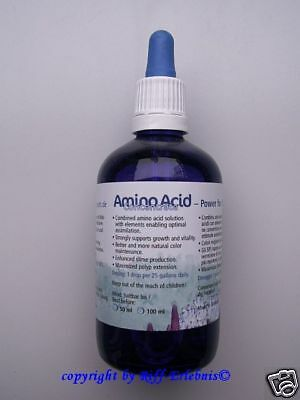 Amino Acid Concentrate 50ml Korallenzucht  Aminosäuren 71,80€/100ml