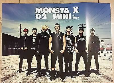 MONSTA X RUSH POSTER [ POSTER ONLY ]  - Poster in Tube