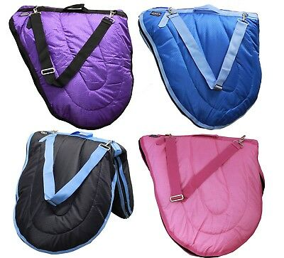 CARIBU Saddle Carry Bag,  Suit English/ Dressage/ All Purpose Saddles. 4 Colours