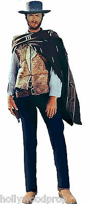 Clint Eastwood In Poncho The Good Bad And & Ugly Lifesize Standup Standee Cutout