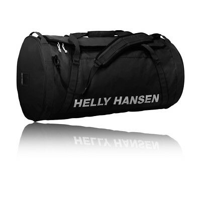 Helly Hansen Black Water Resistant 90L Duffel Carry On Bag Gym Sack 2.0