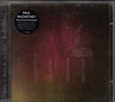 Paul McCartney- From a lover to a Friend cd maxi single
