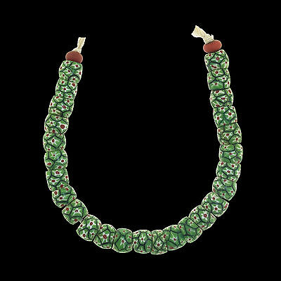 Antique Murano Trade Glass Beads String - Africa Venezia - 19th/20t c. -  (0076)