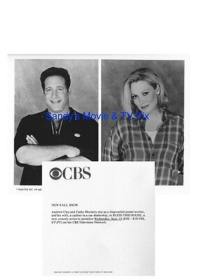 ANDREW CLAY, CATHY MORIARTY Terrific Original TV Photo BLESS THIS HOUSE