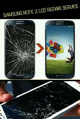 Samsung Galaxy Note 2 LCD Screen Replacement Repair Service Fast Turnaround