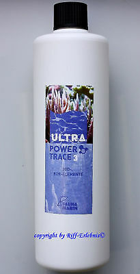 Ultra Power Trace 3 Fauna Marin 500ml Jod Bor Spurenelemente  29,90€/L