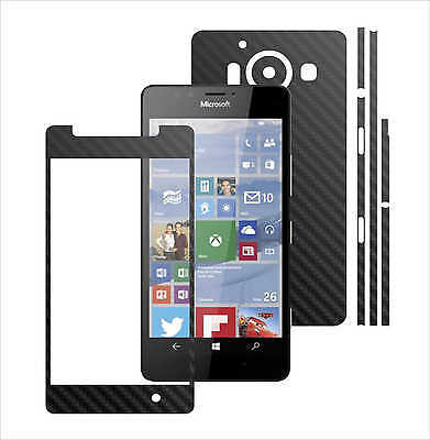 3D Carbon Skin,Full Body Protector for Case,Vinyl Wrap For Microsoft Lumia 950