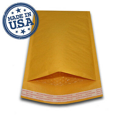 "250 #CD 7.25X8 KRAFT BUBBLE PADDED MAILERS SHIPPING ENVELOPES 7.25"" x 8"""