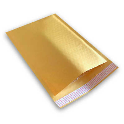"""200 #2 8.5X12 KRAFT BUBBLE PADDED MAILERS SHIPPING ENVELOPES 8.5"""" x 12"""""""