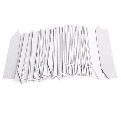 100 Pcs Plastic Plant Seed Labels Nursery Garden Stake Tags Pot Markers