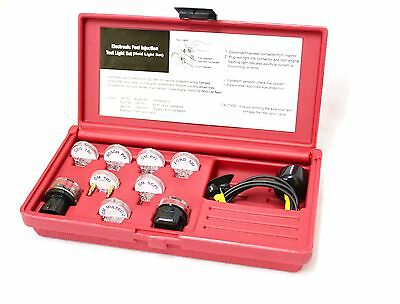 10Pc Electronic Fuel Injection Injector Test Noid Light Set Auto Tool Taiwan