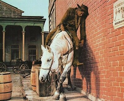 Lee Marvin Cat Ballou Classic Western Movie Drunk Scene Photo Poster Lobby Card
