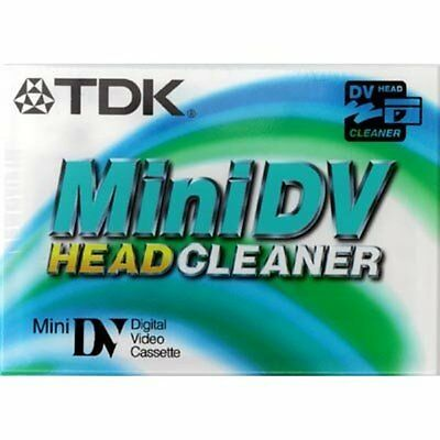 TDK Mini DV Head Cleaner Tape For All Mini DV Camcorders - BRAND NEW