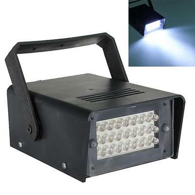 24 LED Strobe Lights DJ Disco Operated Party Stage Lighting Effect Light Lamp