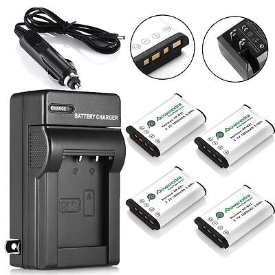 NP-BX1 Battery for Sony Cyber-Shot NP-BX1 RX1 RX1R RX100 Ⅱ DSC-WX300 + Charger
