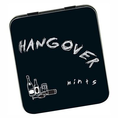 Hangover Mints Tin Adult Novelty Hen Stag Fathers Day Mothers Day Drinking Party