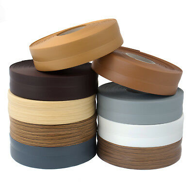 32mm x 23mm FLEXIBLE SKIRTING BOARD PVC floor wall joint cover soft coved strip