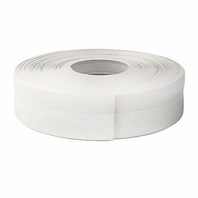 WHITE FLEXIBLE SKIRTING BOARD 32mm x 23mm PVC strip finishes edges floor wall