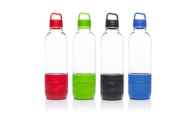 Bluetooth Speaker Bottle Water Resistant BPA Free Cycling Running Hiking Bottle
