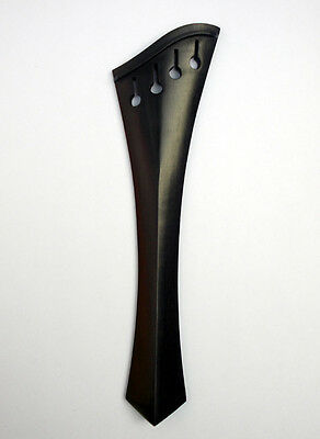 Cello Compensating Harp tailpiece Semi hill Ebony Wood 4/4