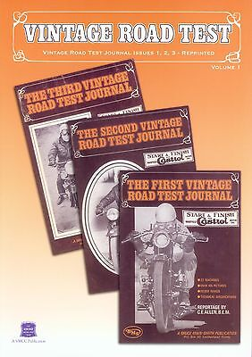 Vintage Motorcycle Book BMS VMCC Road Tests BSA AJS TRIUMPH