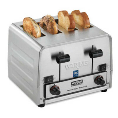 Conair Waring WCT850RC Heavy Duty Bread and Bagel 4-Slice Commercial Toaster