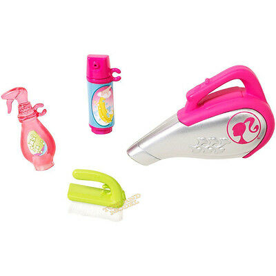 Barbie Accessory - Cleaning Set Mattel CFB57 Genuine CE Marked 3 Yrs+ NEW