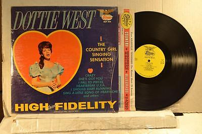 DOTTIE WEST Starday SLP-302 THE COUNTRY GIRL SINGING SENSATION -TOP COPY -LISTEN