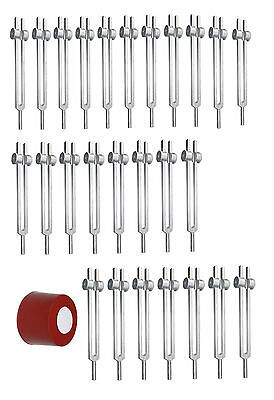 Weighted Chakra Harmonic Planetary - 26 Tuning Forks