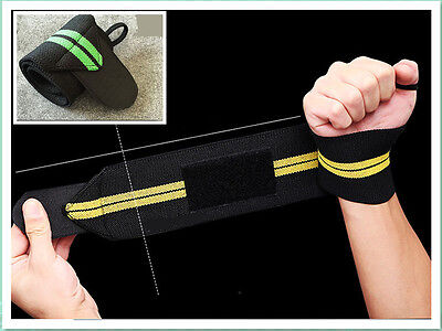 Fitness Weight Lifting Support Straps Sports HOT Bandage Wraps   Exercise  Wrist