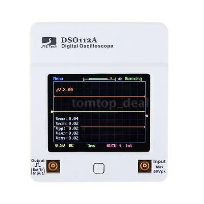 DSO112A Digital Storage Oscilloscope TFT Touch Screen w/ MCX-clip Cables A4O0