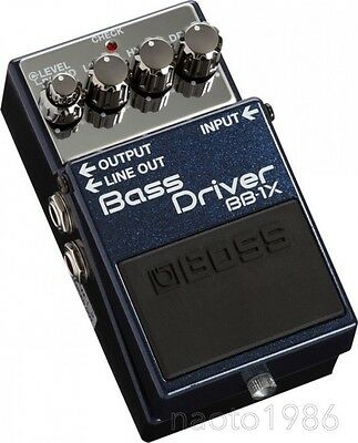 Boss BB-1X Bass Driver Effect Pedal from Japan (F/S+Tracking Number)