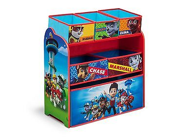 Kinderregal Stoffbox Kinder Paw Patrol Kinderzimmerregal Spielzeugkiste Box